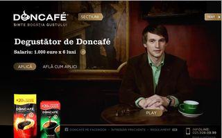 Participă la promoţia Doncafé şi poţi câştiga un job de vis!