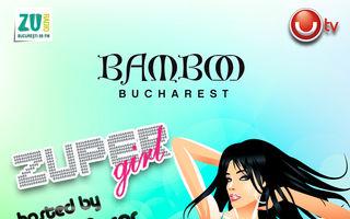 Bamboo si Mihai Morar premiaza cea mai Zuper girl!