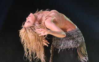 A mai ramas doar o luna pana la concertul Shakira