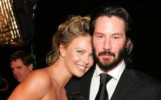 Keanu Reeves şi Charlize Theron sunt îndrăgostiţi