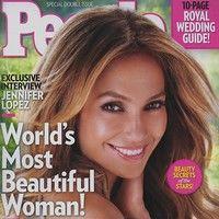 Jennifer Lopez, cea mai frumoasă femeie din lume