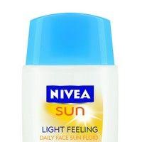 Loţiune de faţă NIVEA SUN Light Feeling FPS 30