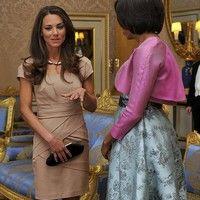 """Prinţesa Kate poartă rochie """"made in"""" Ferentari"""