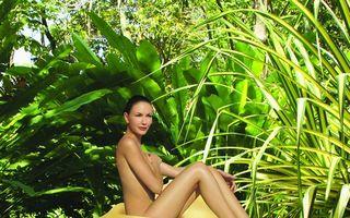 Baie cu mango si cocos