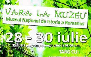 Targ de vara la muzeu: 28-30 iulie 2011