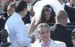 Cristi şi Alina Borcea, nuntă de 1 milion de euro