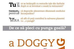 5 000 de doggy bag-uri vor fi oferite bucureştenilor vineri, în Centrul Vechi