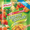 Legume în Bucate, un condiment universal unic, cu bucăţi mari de legume