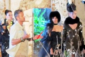 Prezentare de modă în cimitir la Next Top Model