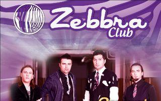 Vunk aprinde artificii pe tavan in ZEBBRA CLUB!