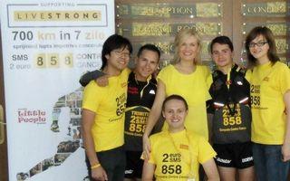 Tur de forţă împotriva cancerului în 7 zile de maraton