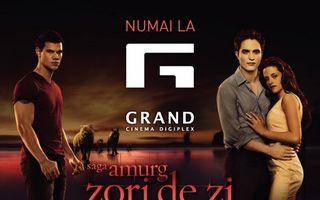 """Grand Cinema Digiplex sărbătoreşte """"Festivalul Saga Amurg"""""""