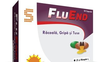 FluEnd pentru combaterea racelii, gripei si tusei