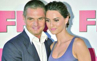 Catrinel Menghia s-a despărţit de soţul său