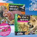 Premieră! Primul atlas zoologic 3D al copilului tău! Mâine, cu Gazeta Sporturilor!