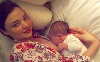 Hollywood: 9 mame celebre surprinse alăptând