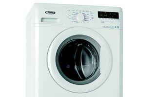 Maşină de spălat marca Whirlpool dotată cu tehnologia Al 6-lea Simţ Colours