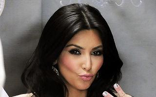 Kim Kardashian, o vedetă nesimţită