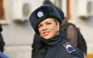 """Teo, poliţistă în serialul """"Pariu cu viaţa"""""""