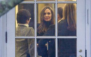 Ce a vorbit Angelina Jolie cu Obama la Casa Albă