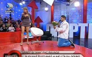 Sânziana Buruiană a fost cerută în căsătorie în direct