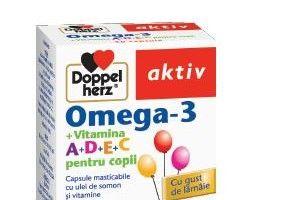 Putere de concentrare, memorie, atentie si imunitate pentru copii de la Doppelherz!