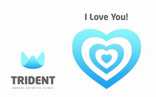 "Card ""I love you!"" de la Clinica Trident"