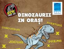 Vin Dinozaurii la Bucureşti Mall! Kids' Dino Dig începe pe 17 februarie