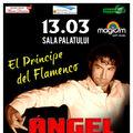 În data de  13 Martie, flamenco veritabil cu ANGEL MUNOZ la Sala Palatului
