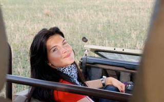 Monica Bârlădeanu, într-un safari de vis