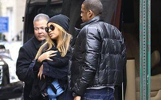 Prima ieșire în oraş pentru fiica lui Beyonce și Jay-Z