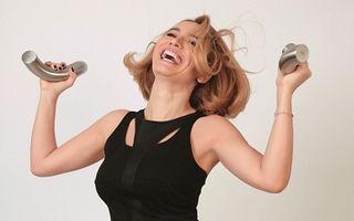 Andreea Esca, pictorial sexy. A pozat pentru soţul ei, pasionat de fotografie