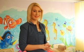 """Luiza Udrea, prezentatoarea emisiunii """"Mama din intamplare"""", a redat zambetele copiilor de la centrul de Plasament """"Harap Alb"""""""