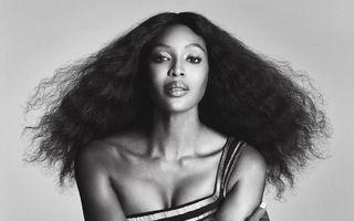 Naomi Campbell, pictorial inspirat de Tina Turner