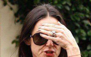 Demi Moore a ieşit de la dezintoxicare