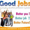 Targ de joburi in Pasajul Universitatii