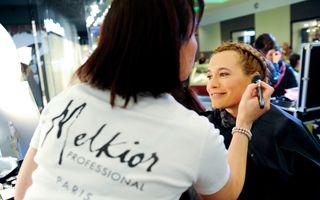 Andreea Esca si Dana Savuica au participat la sedinta de styling la Melkior