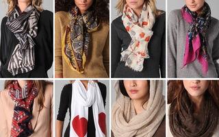 Modă: 9 moduri în care să foloseşti eşarfa ca să fii trendy