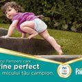 Pampers Active Baby, scutecul care îi vine perfect micului tău campion!