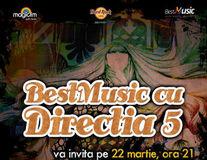 BestMusic cu Directia 5, la Hard Rock Cafe