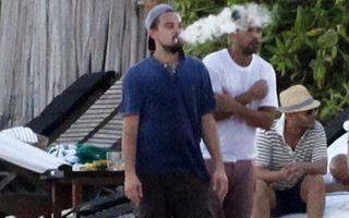 Leonardo di Caprio, ameţit de băutură şi ţigări la petrecerea unui miliardar