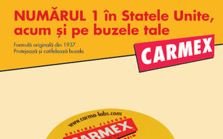 Carmex -  balsam de buze cu SPF