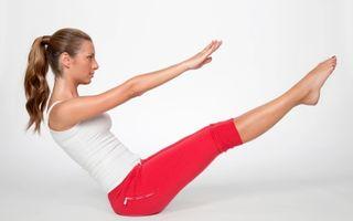 Pilates: 5 exerciţii uşoare care te fac sexy. Slăbeşti într-o lună!