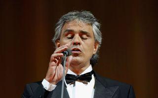 Andrea Bocelli a devenit tată pentru a treia oară