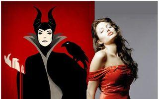 """Angelina Jolie: """"Trebuie să port coarne"""""""