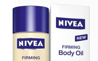 Noul ulei de corp pentru fermitate NIVEA Q10 plus