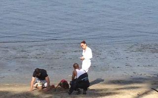 Jennifer Lopez a închiriat o plajă