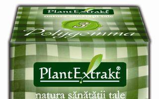 PlantExtrakt largeste gama gemoterapica Polygemma cu doua noi produse