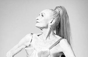 Cel mai bătrân fotomodel din lume a pozat sexy