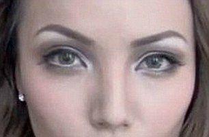 Arta machiajului perfect: Fata care se transformă în Angelina Jolie